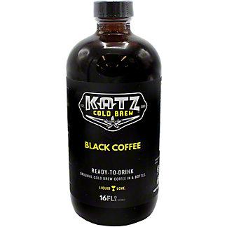 Katz Black Coffee Ready-To-Drink, 16 OZ