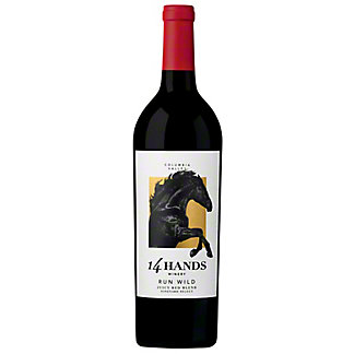 14 Hands Run Wild Juicy Red Blend, 750 mL