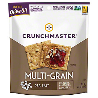 Crunchmaster Multigrain Sea Salt, 4 OZ