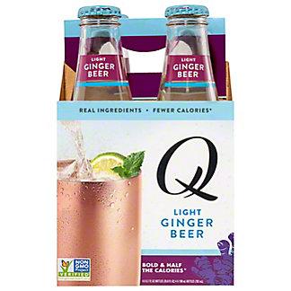 Q Ginger Beer Light, 4 PK