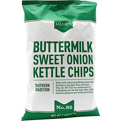 Lillie's Q Buttermilk Sweet Onion Kettle Chips, 5 oz