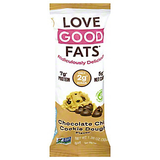 Love Good Fats Love Good Fats Chocolate Chip Cookie Dough, 1.38 OZ