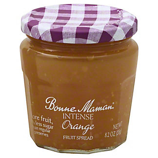 Bonne Maman Intense Orange Fruit Spread, 8.2 oz
