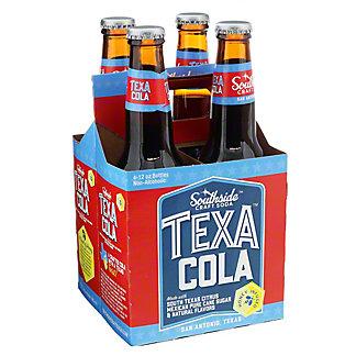 Southside Craft Soda Texa Cola 12 oz Bottles, 4 pk