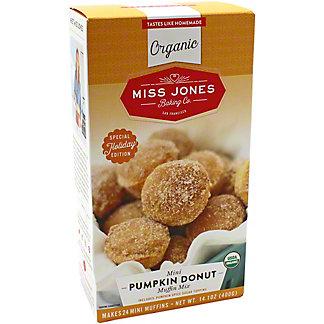 Miss Jones Organic Mini Pumpkin Donut Muffin Mix, 14.1 oz