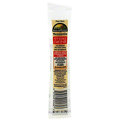 Andrew & Everett Cheese Stick Mozzarella String Cheese, 1 OZ