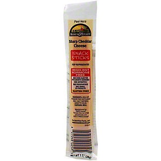 Andrew & Everett Cheese Stick Sharp Cheddar, 1 OZ