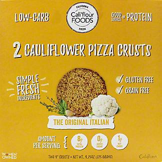 Cali'flour Foods Pizza Crust Original Italian, 2 ct