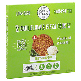 Cali'flour Foods Califlower Pizza Crust Spicy Jalapeno, 2 ct