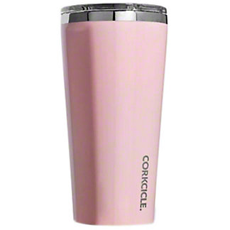 Corkcicle Rose Metallic Tumbler , 16 oz