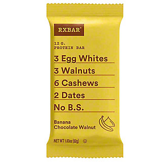 RxBar Banana Chocolate Walnut Protein Bar, 1.83 oz