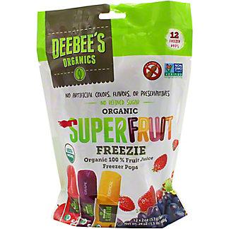 Deebee's Super Freezer Pops, 12 ct
