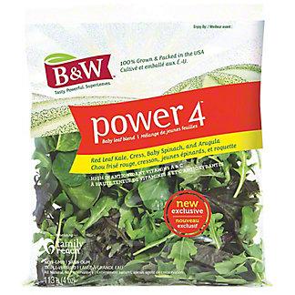 B&W Power Four Baby Leaf Blend, 4 oz