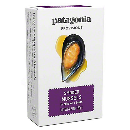 Patagonia Provisions Smoked Mussels , 4.2 OZ
