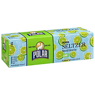 Polar Lime Seltzer , 12 Pack