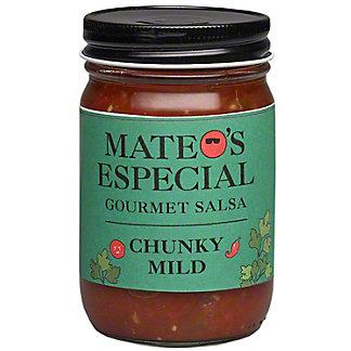 Mateos Mild Chunky Salsa, 16 oz