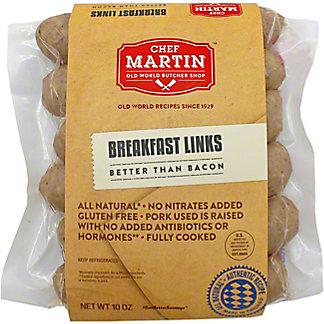 Chef Martin Old World Butcher Breakfast Links, 10 OZ