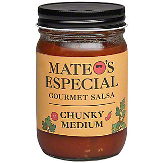 Mateos Medium Chunky Salsa, 16 oz