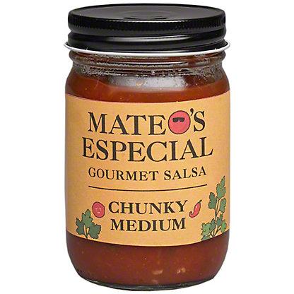 Mateos Medium Chunky Salsa, 16 oz