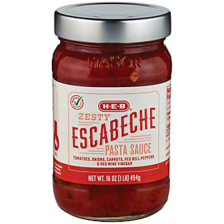 H-E-B Select Ingredients Escabeche Pasta Sauce, 16 oz