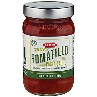 H-E-B Select Ingredients Tomatillo Pasta Sauce, 16 oz