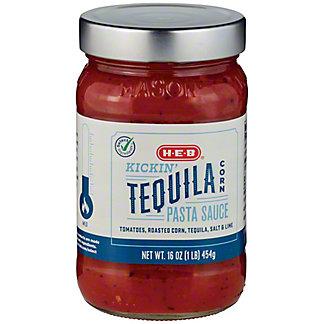 H-E-B Select Ingredients Kickin' Tequila Corn Pasta Sauce, 16 oz