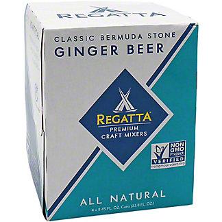 Regatta Classic Ginger Beer Slim Can, 4 pk