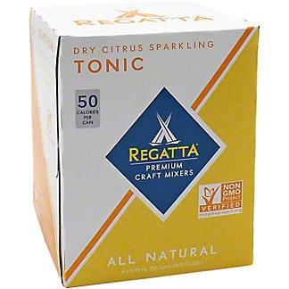 Reggata Dry Citrus Sparkling Tonic, 4 pk