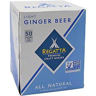 Regatta Light Ginger Beer, 4 pk