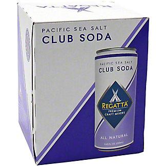 Regatta Pacific Sea Salt Club Soda, 4 pk