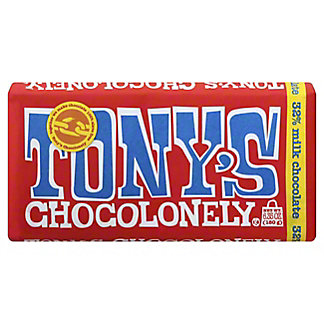 Tony's Chocolonely Bar Milk Chocolate, 6.35 oz