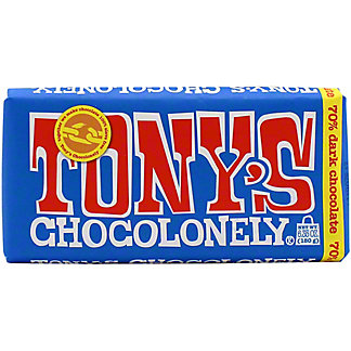 Tonys Chocolonely Dark Chocolate Bar, 6.35 oz