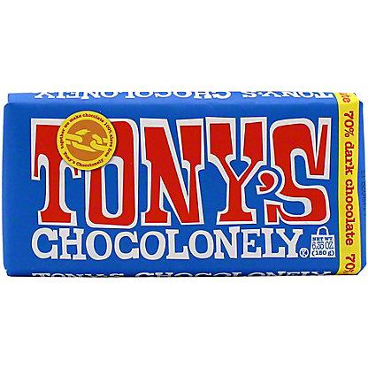 Tonys Chocolonely Dark Chocolate Bar, 6.35 oz