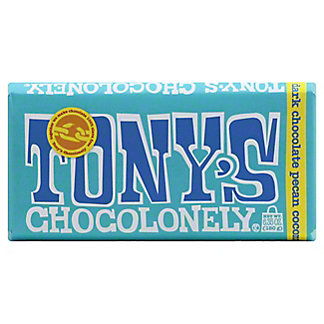 Tony's Chocolonely Bar Dark Pecan Coconut, 6.35 oz
