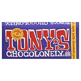 Tony's Chocolonely Bar Dark Milk Pretzel Toffee, 6.35 oz