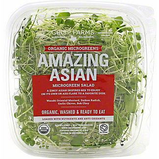 Crisp Farms Organic Microgreens Amazing Asian, 1.75 oz