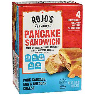 Rojo's Famous Pancake Sandwich Pork Sausage Egg Cheese, 16.25 oz