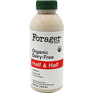 Forager Half And Half, 16 oz