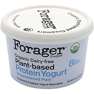 Forager Project Coconut Cashewgurt Unsweetened Plain, 16 oz