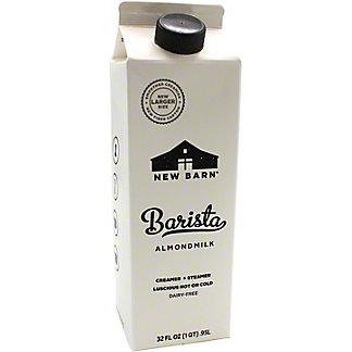New Barn Milk Almond Barista, 32 OZ