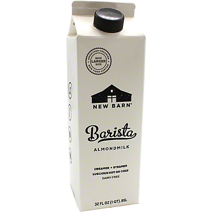 New Barn Milk Almond Barista, 32 OZ