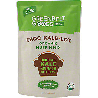 Greenbelt Goods Choc-Kale-Lot Organic Muffin Mix, 10.75 oz