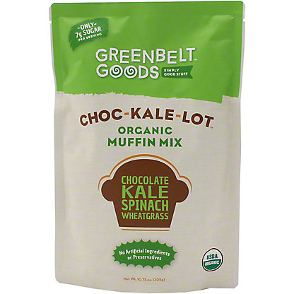 Greenbelt Goods Choc-Kale-Lot Organic Muffin Mix, 10.75 oz