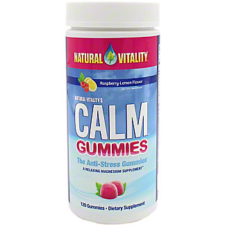 Natural Vitality Calm Gummies, 120 ct
