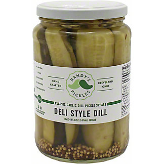 Randy's Randys Pickles Deli Style Pickles, 24 OZ