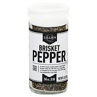 Lillies Q Brisket Pepper, 2 OZ