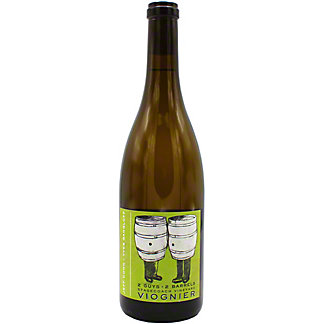 Jeff Cohn Cellars 2 Guys 2 Barrels Viognier, 750 mL