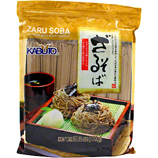 Kabuto Buckwheat Noodles Zaru Soba, 28 oz