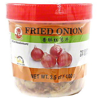 Cock Brand Fried Onion, 3.5 oz
