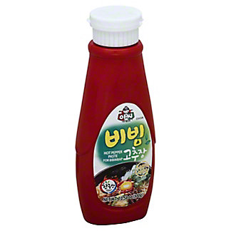 Assi Hot Pepper Paste For Bibimap, 10.58 oz